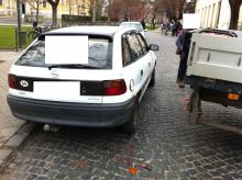 Tavaszi baleset a Kossuth téren, tanulságokkal...